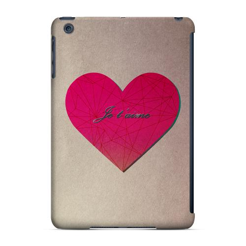 Geeks Designer Line (GDL) Slim Hard Case for Apple iPad Mini - Je t'aime