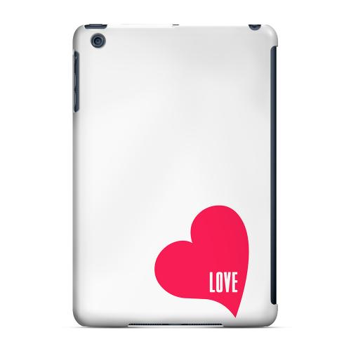 Geeks Designer Line (GDL) Slim Hard Case for Apple iPad Mini - Love Heart