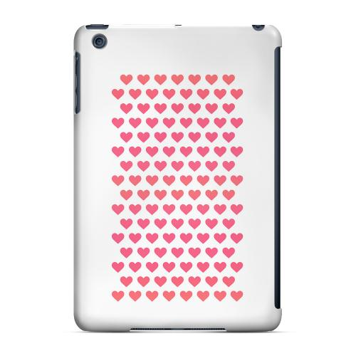 Geeks Designer Line (GDL) Slim Hard Case for Apple iPad Mini - Miniature Hearts