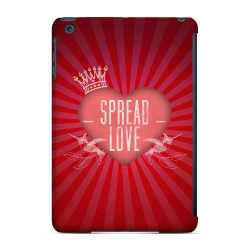 Geeks Designer Line (GDL) Slim Hard Case for Apple iPad Mini - Spread Love