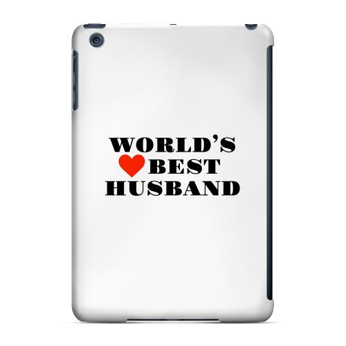 Geeks Designer Line (GDL) Slim Hard Case for Apple iPad Mini - World's Best Husband