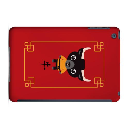 Geeks Designer Line (GDL) Slim Hard Case for Apple iPad Mini - Chibi Ox