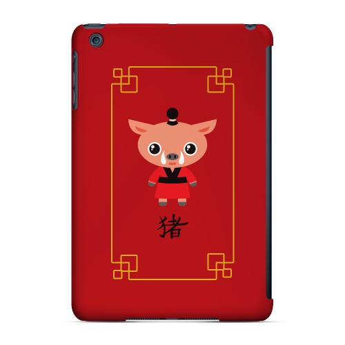 Geeks Designer Line (GDL) Slim Hard Case for Apple iPad Mini - Chibi Pig