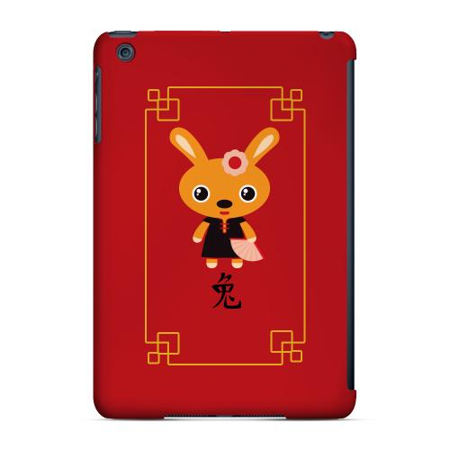 Geeks Designer Line (GDL) Slim Hard Case for Apple iPad Mini - Chibi Rabbit