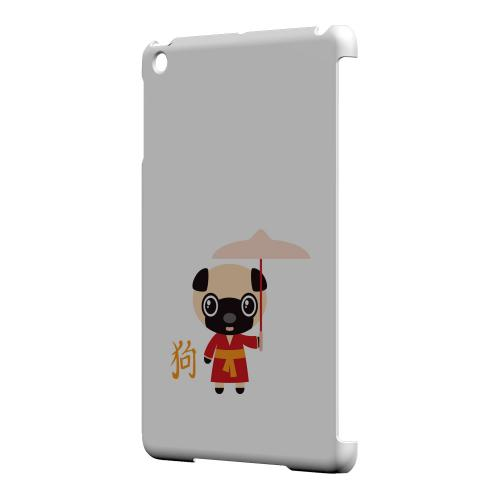 Geeks Designer Line (GDL) Slim Hard Case for Apple iPad Mini - Dog on White