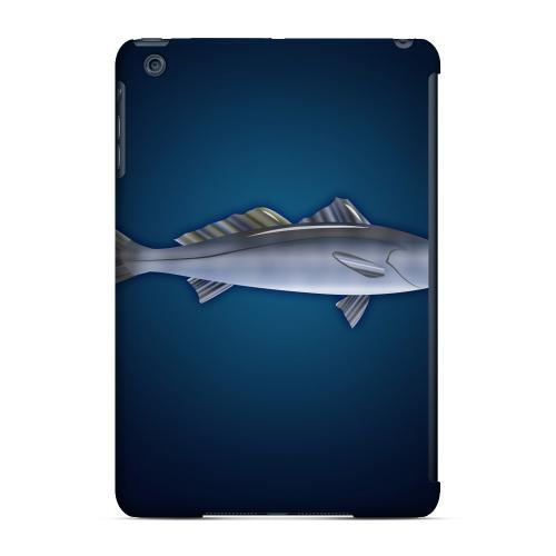 Geeks Designer Line (GDL) Slim Hard Case for Apple iPad Mini - White Sea Bass