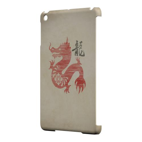 Geeks Designer Line (GDL) Slim Hard Case for Apple iPad Mini - Grunge Dragon