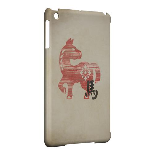 Geeks Designer Line (GDL) Slim Hard Case for Apple iPad Mini - Grunge Horse