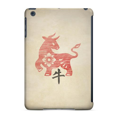 Geeks Designer Line (GDL) Slim Hard Case for Apple iPad Mini - Grunge Ox