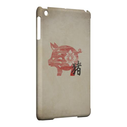 Geeks Designer Line (GDL) Slim Hard Case for Apple iPad Mini - Grunge Pig