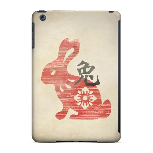 Geeks Designer Line (GDL) Slim Hard Case for Apple iPad Mini - Grunge Rabbit