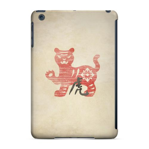 Geeks Designer Line (GDL) Slim Hard Case for Apple iPad Mini - Grunge Tiger