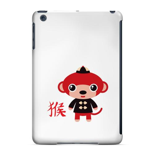 Geeks Designer Line (GDL) Slim Hard Case for Apple iPad Mini - Monkey on White