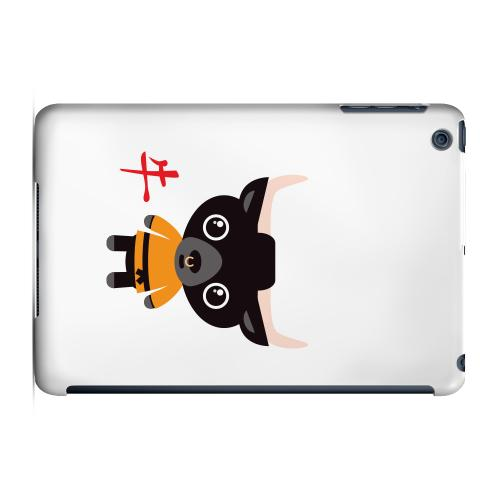 Geeks Designer Line (GDL) Slim Hard Case for Apple iPad Mini - Ox on White