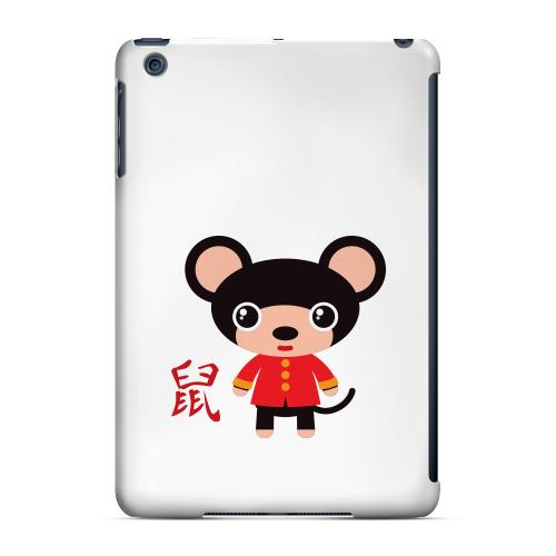 Geeks Designer Line (GDL) Slim Hard Case for Apple iPad Mini - Rat on White