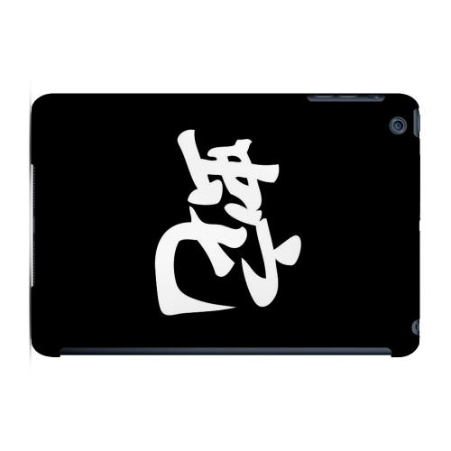 Geeks Designer Line (GDL) Slim Hard Case for Apple iPad Mini - Snake Character on Black