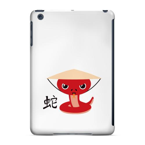 Geeks Designer Line (GDL) Slim Hard Case for Apple iPad Mini - Snake on White