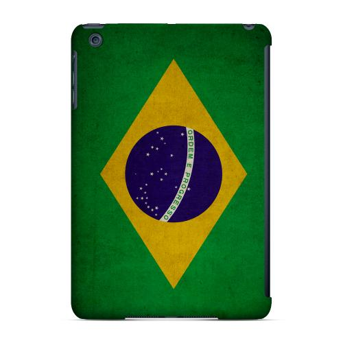 Geeks Designer Line (GDL) Slim Hard Case for Apple iPad Mini - Grunge Brazil