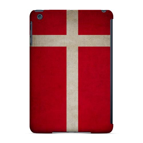 Geeks Designer Line (GDL) Slim Hard Case for Apple iPad Mini - Grunge Denmark