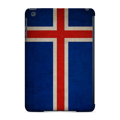 Geeks Designer Line (GDL) Slim Hard Case for Apple iPad Mini - Grunge Iceland