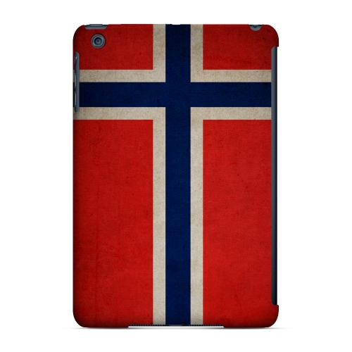 Geeks Designer Line (GDL) Slim Hard Case for Apple iPad Mini - Grunge Norway