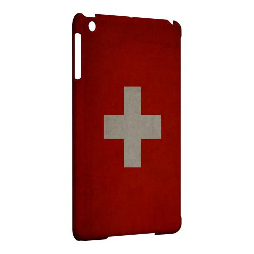 Geeks Designer Line (GDL) Slim Hard Case for Apple iPad Mini - Grunge Switzerland