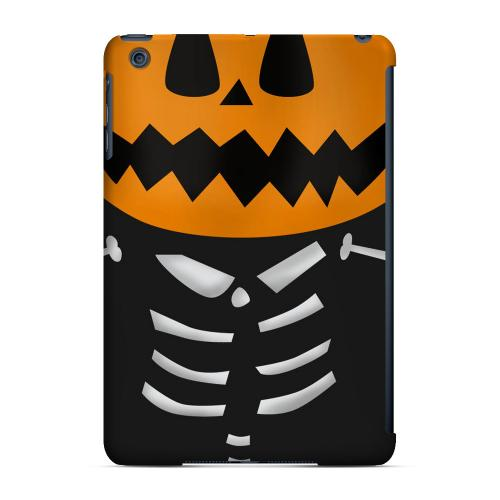 Geeks Designer Line (GDL) Slim Hard Case for Apple iPad Mini - Skelton w/Jack O' Lantern Head