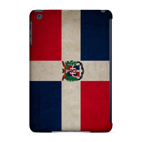 Geeks Designer Line (GDL) Slim Hard Case for Apple iPad Mini - Grunge Dominican Republic