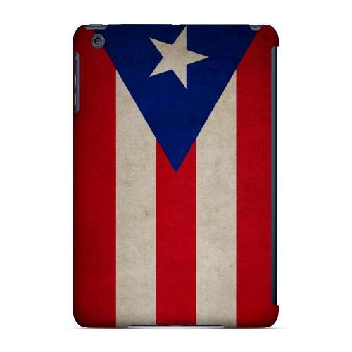 Geeks Designer Line (GDL) Slim Hard Case for Apple iPad Mini - Grunge Puerto Rico