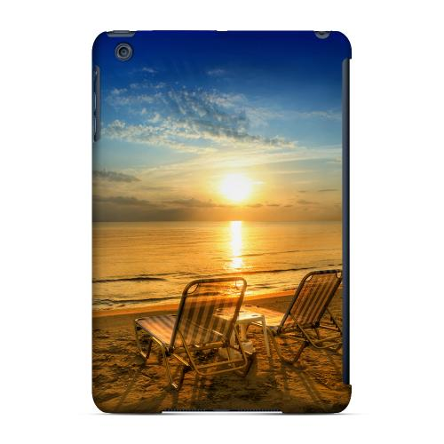 Geeks Designer Line (GDL) Slim Hard Case for Apple iPad Mini - Beach Chair Sunrise