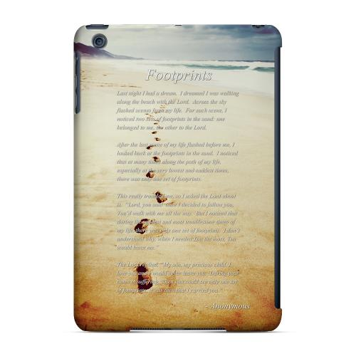 Geeks Designer Line (GDL) Slim Hard Case for Apple iPad Mini - Footprints