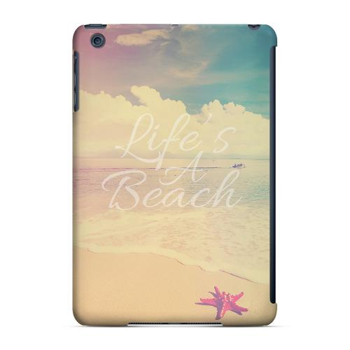 Geeks Designer Line (GDL) Slim Hard Case for Apple iPad Mini - Life's A Beach