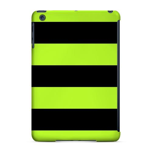 Geeks Designer Line (GDL) Slim Hard Case for Apple iPad Mini - Colorway Black/ Flo Green