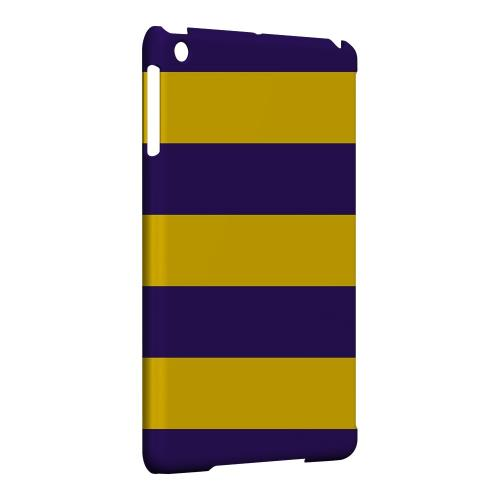 Geeks Designer Line (GDL) Slim Hard Case for Apple iPad Mini - Colorway Purple/ Gold