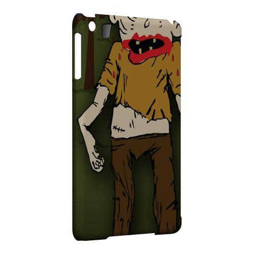 Geeks Designer Line (GDL) Slim Hard Case for Apple iPad Mini - Zombie in Graveyard