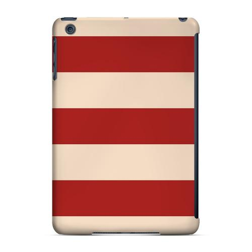 Geeks Designer Line (GDL) Slim Hard Case for Apple iPad Mini - Linen Poppy Red