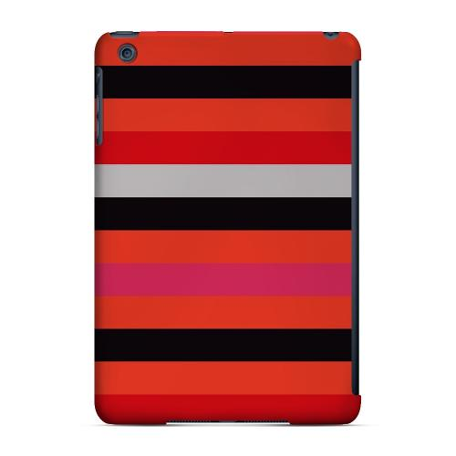 Geeks Designer Line (GDL) Slim Hard Case for Apple iPad Mini - Muted Spade Stripes