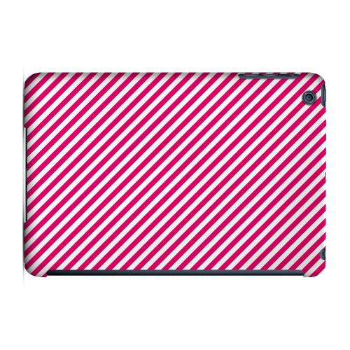 Geeks Designer Line (GDL) Slim Hard Case for Apple iPad Mini - Thin Hot Pink Diagonal