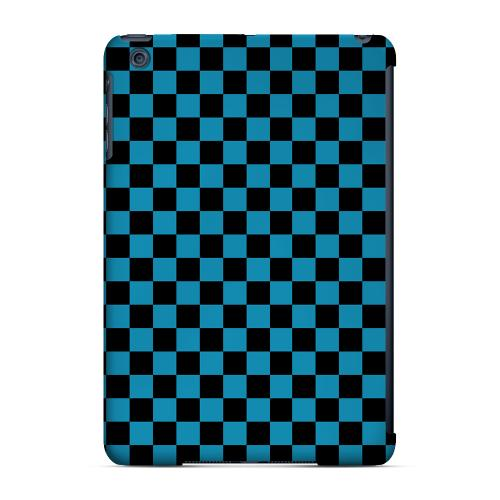 Geeks Designer Line (GDL) Slim Hard Case for Apple iPad Mini - Aqua Blue/ Black