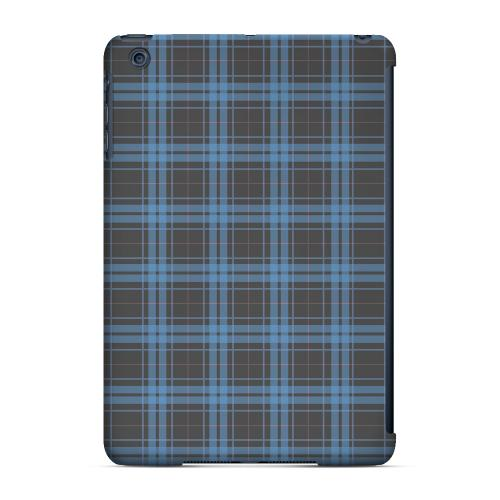 Geeks Designer Line (GDL) Slim Hard Case for Apple iPad Mini - Blue/ Gray/ Pink Plaid