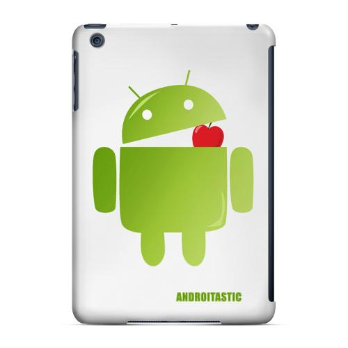 Geeks Designer Line (GDL) Slim Hard Case for Apple iPad Mini - Robot Versus Apple