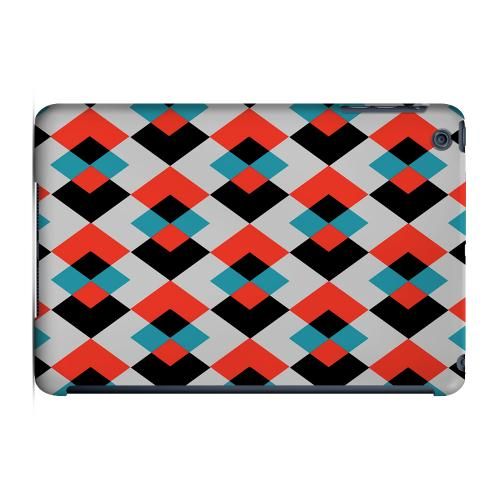 Geeks Designer Line (GDL) Slim Hard Case for Apple iPad Mini - Double Diamond Vision