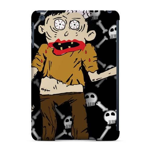 Geeks Designer Line (GDL) Slim Hard Case for Apple iPad Mini - Zombie w/Skull & Crossbones