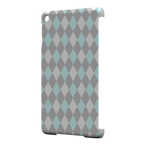 Geeks Designer Line (GDL) Slim Hard Case for Apple iPad Mini - Pink/ Blue/ Gray Argyle
