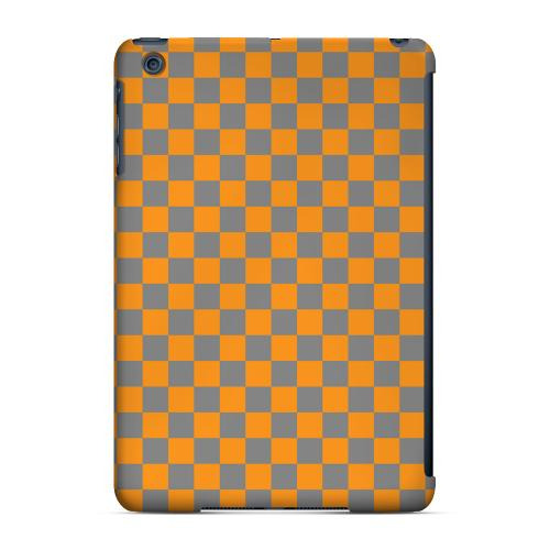 Geeks Designer Line (GDL) Slim Hard Case for Apple iPad Mini - Orange/ Gray