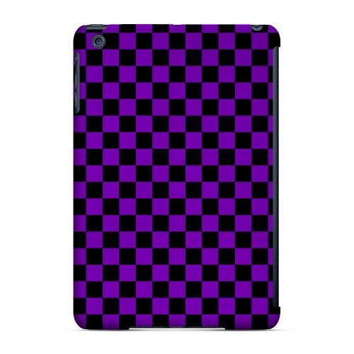 Geeks Designer Line (GDL) Slim Hard Case for Apple iPad Mini - Purple/ Black