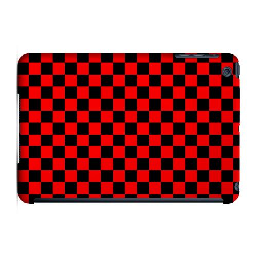 Geeks Designer Line (GDL) Slim Hard Case for Apple iPad Mini - Red/ Black