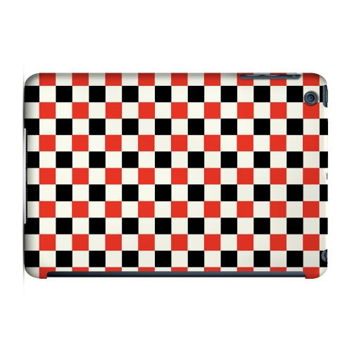 Geeks Designer Line (GDL) Slim Hard Case for Apple iPad Mini - Red/ Black on Cream
