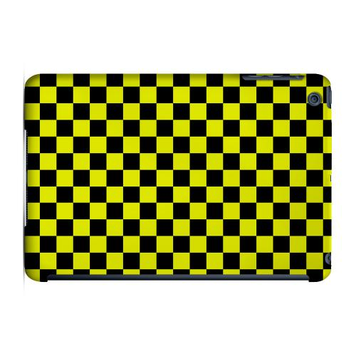 Geeks Designer Line (GDL) Slim Hard Case for Apple iPad Mini - Yellow/ Black