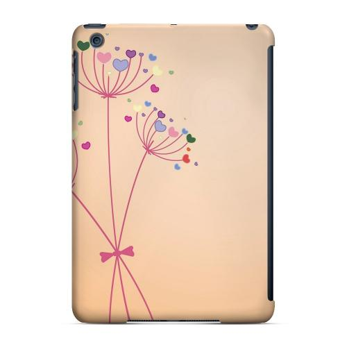 Geeks Designer Line (GDL) Slim Hard Case for Apple iPad Mini - Dandelion Hearts